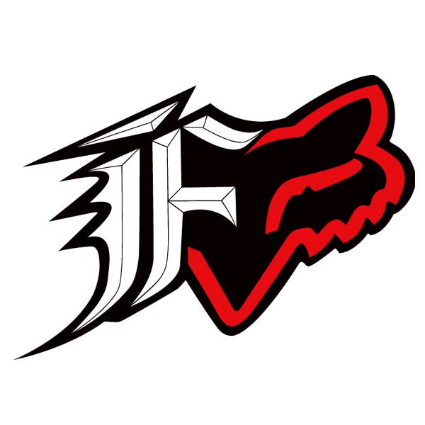 【FOX】FOX F-Head 貼紙 - 「Webike-摩托百貨」