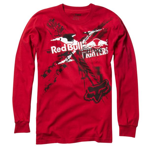 【FOX】FOX RedBull X-Fight Exposed L/S T恤 - 「Webike-摩托百貨」