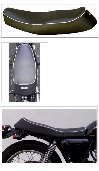 【K&H】雙座坐墊 (Type 2A 白色滾邊 Semi-order) - 「Webike-摩托百貨」