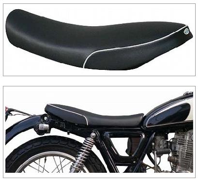 【K&H】短雙座坐墊 (Type B 白色滾邊 Semi-order) - 「Webike-摩托百貨」