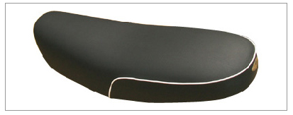 【K&H】Model 007 坐墊 (Type B 白色滾邊) - 「Webike-摩托百貨」