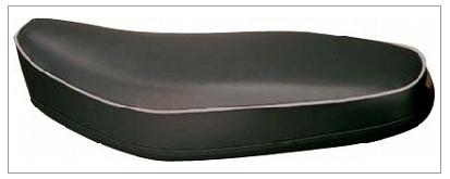 【K&H】雙人座墊 (白色滾邊) <半成品> - 「Webike-摩托百貨」