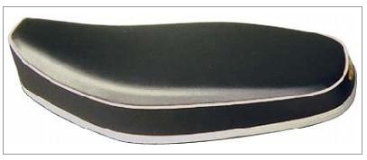 【K&H】雙人座墊 (銀色下緣) <半成品> - 「Webike-摩托百貨」