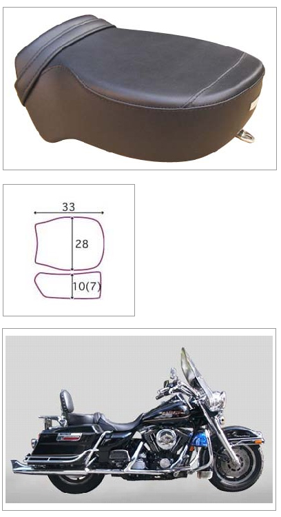 【K&H】Pair Ride 素面 坐墊<Semi-order> - 「Webike-摩托百貨」