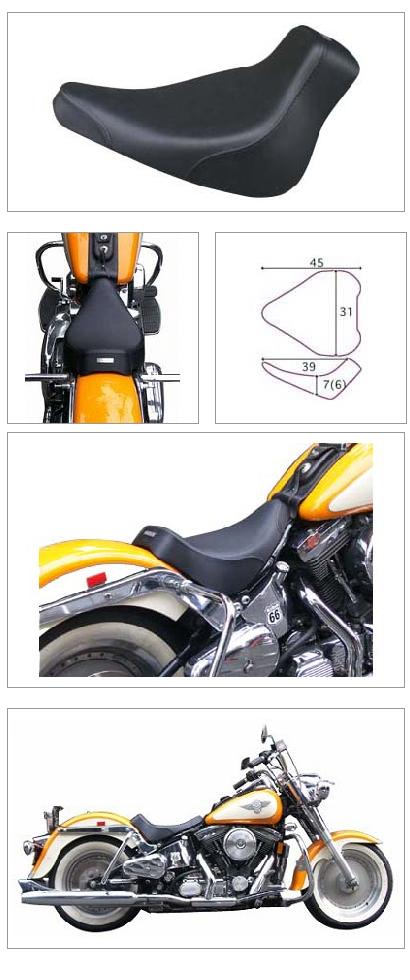 【K&H】單坐墊 素面  <Semi-order> - 「Webike-摩托百貨」