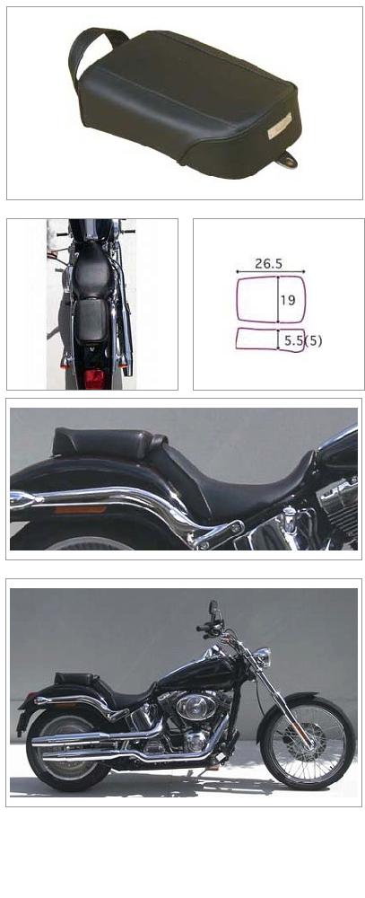 【K&H】後座坐墊  素面 - 「Webike-摩托百貨」
