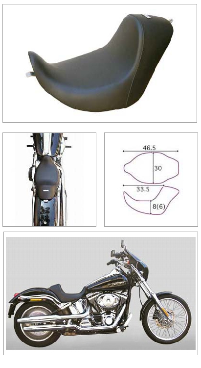 【K&H】單坐墊2 素面 <Semi-order> - 「Webike-摩托百貨」