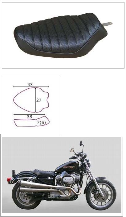 【K&H】單坐墊 AD  Tuck<Semi-order> - 「Webike-摩托百貨」