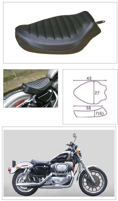 【K&H】單坐墊 A Tuck 毛毛蟲<Semi-order> - 「Webike-摩托百貨」