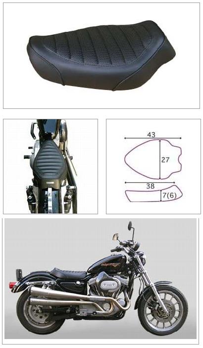 【K&H】單坐墊 B毛毛蟲型<Semi-order> - 「Webike-摩托百貨」
