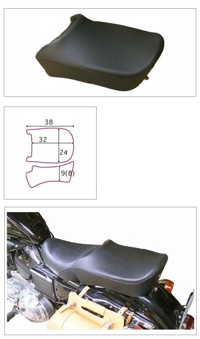 【K&H】Pair Ride 坐墊 (Plain) - 「Webike-摩托百貨」