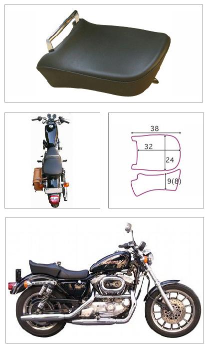 【K&H】Pair Ride 素面坐墊 付把手<Semi-order> - 「Webike-摩托百貨」