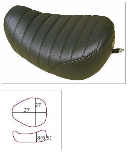 【K&H】Broad Bean Tuck 毛毛蟲坐墊 <Semi-order> - 「Webike-摩托百貨」