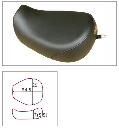 【K&H】Broad Bean LOW 素面 坐墊<Semi-order> - 「Webike-摩托百貨」