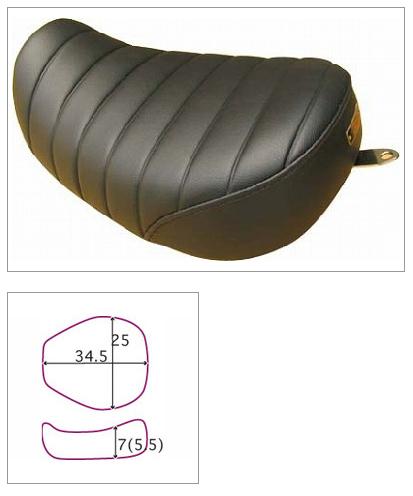 【K&H】Broad Bean LOW Tuck 毛毛蟲坐墊 <Semi-order> - 「Webike-摩托百貨」
