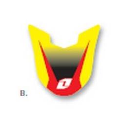 【ONE Industries】前土除貼紙 SUZUKI用 - 「Webike-摩托百貨」