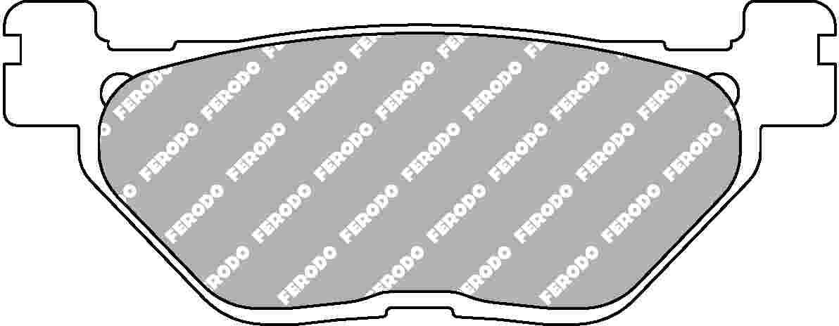 【FERODO】Platinum煞車皮(來令片) - 「Webike-摩托百貨」