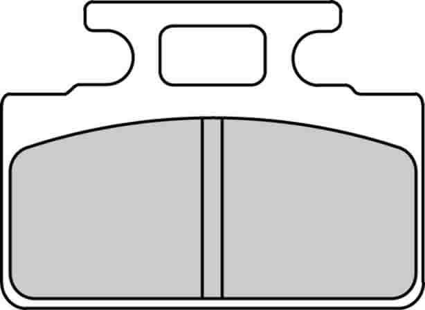 【FERODO】Argento SCOOTERS煞車皮(來令片) - 「Webike-摩托百貨」