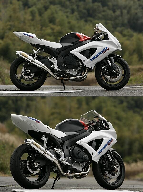 【月木RACING】TR 全段排氣管 - 「Webike-摩托百貨」