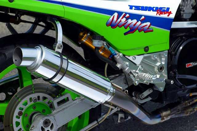 【月木RACING】TR 超短型排氣管尾段 - 「Webike-摩托百貨」