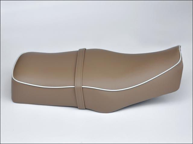 【CHIC DESIGN】復古風雙座墊 無後座皮帶 - 「Webike-摩托百貨」