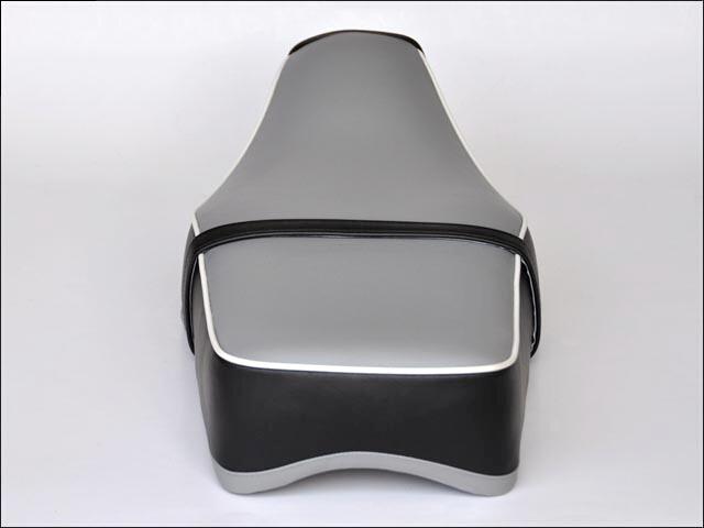【CHIC DESIGN】復古風雙座墊 British 附後座皮帶 - 「Webike-摩托百貨」