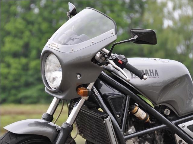 【CHIC DESIGN】Road Comet頭燈罩 Aero Screen款式 墨色風鏡 - 「Webike-摩托百貨」
