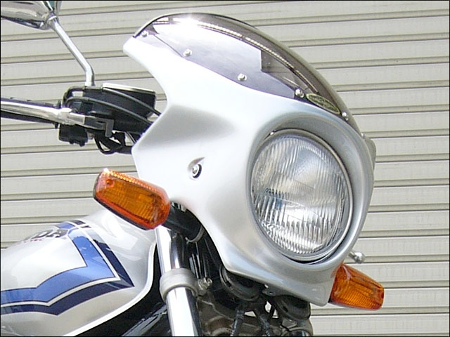 【CHIC DESIGN】Road Comet頭燈罩 Aero Screen款式 透明風鏡 - 「Webike-摩托百貨」