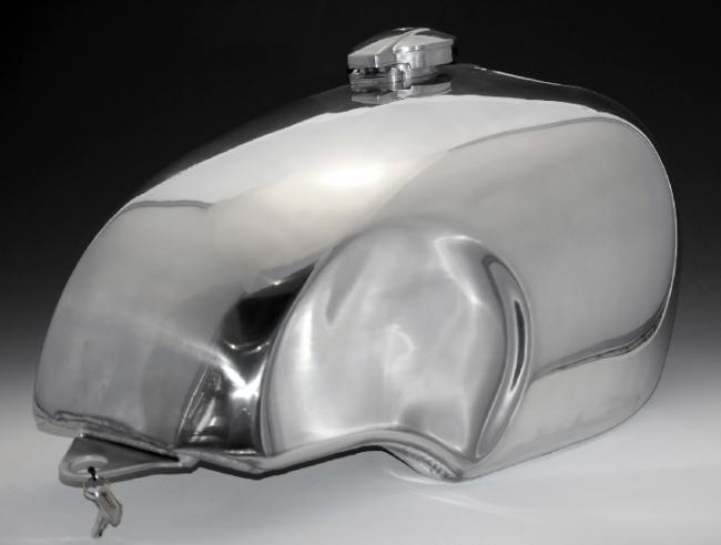 【Peyton Place】SR BSA Type 鋁合金油箱 - 「Webike-摩托百貨」