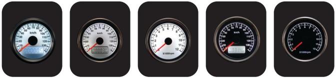 【POSH】LED背光迷你迷你步進式速度儀 - 「Webike-摩托百貨」