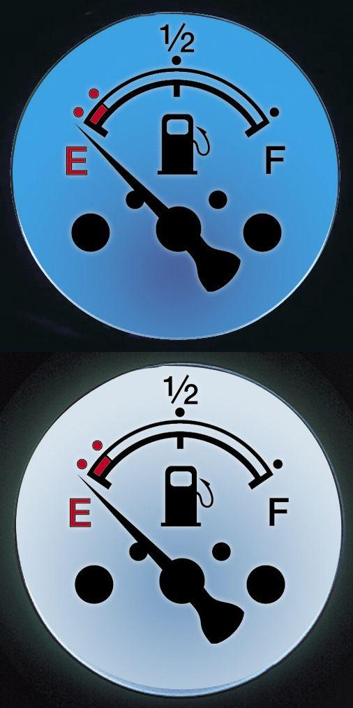 【POSH】LED背光型迷你油量錶 - 「Webike-摩托百貨」