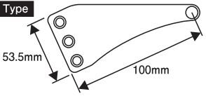 【POSH】鋁合金固定座加長頭燈支架 - 「Webike-摩托百貨」
