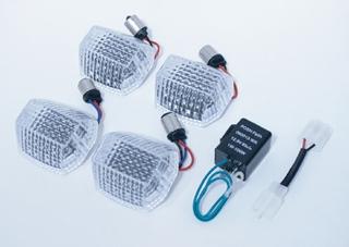 【POSH】LED燈板套件琥珀色燈殼 - 「Webike-摩托百貨」