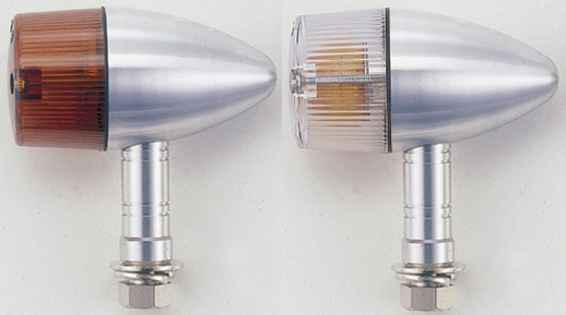 【POSH】砲彈型中型方向燈(長支架) - 「Webike-摩托百貨」