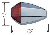 【POSH】ZR TYPE LED標準型方向燈組(鑽石樣式) - 「Webike-摩托百貨」