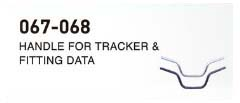 HANDOLE FOR TRACKER & FITTING DATA