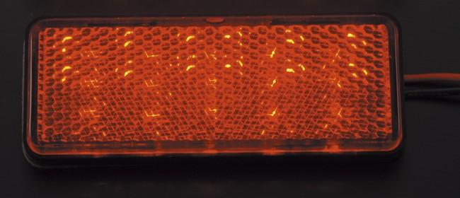 【POSH】LED方型反光片套件 - 「Webike-摩托百貨」