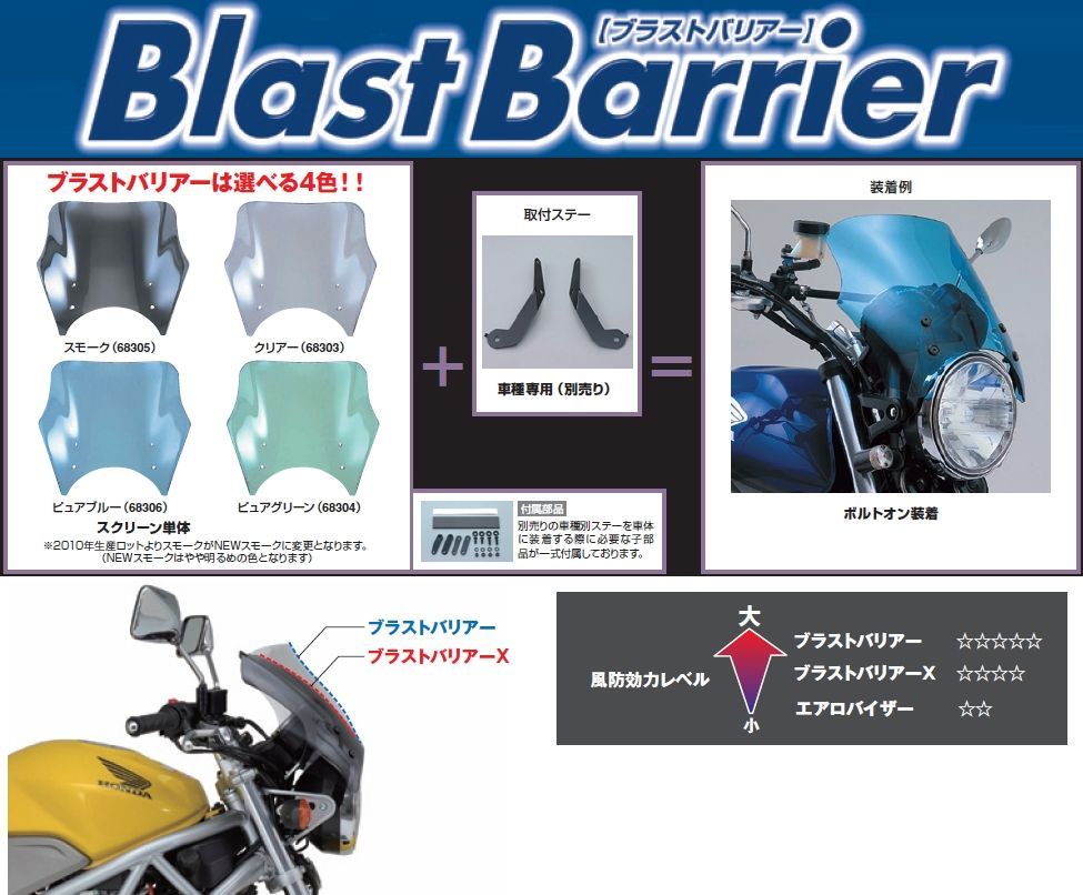 【DAYTONA】Blast Barrier 風鏡本體 - 「Webike-摩托百貨」