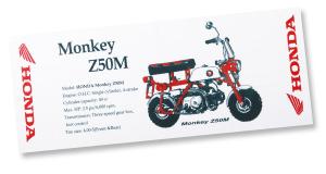 【HONDA RIDING GEAR】Z50M 日本手拭巾 - 「Webike-摩托百貨」