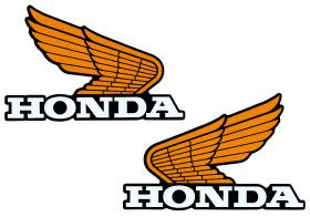 【HONDA】Old wing貼紙14 - 「Webike-摩托百貨」