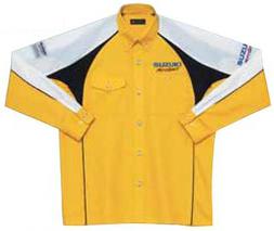 【SUZUKI】維修人員襯衫(長袖) <Motor sports> - 「Webike-摩托百貨」