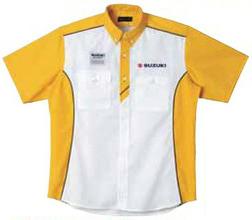 【SUZUKI】維修人員襯衫 <Motor sports> - 「Webike-摩托百貨」