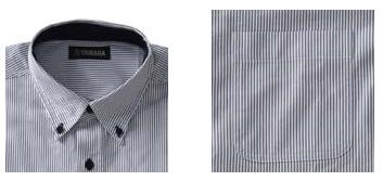 【YAMAHA】YAB11 BD條紋襯衫(短袖) - 「Webike-摩托百貨」