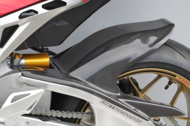 【TSR】碳纖維後土除 (ABS車型用) - 「Webike-摩托百貨」