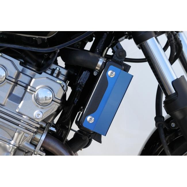 【TSR】散熱器(水箱) 側蓋組 (藍色) - 「Webike-摩托百貨」