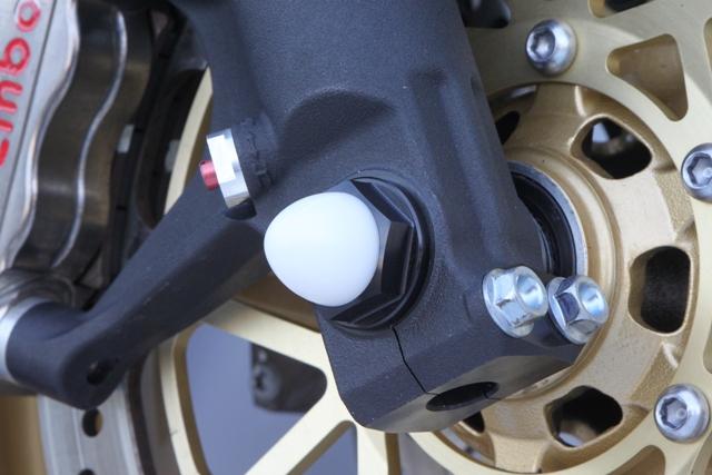 【TSR】M18 鋁合金前軸螺絲 (黑色) - 「Webike-摩托百貨」