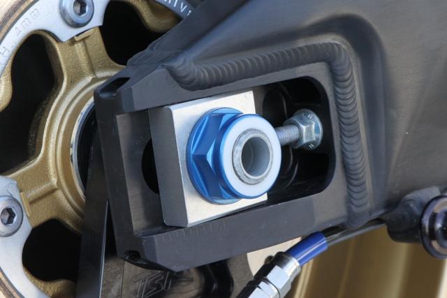 【TSR】後輪軸螺帽M22 藍色 - 「Webike-摩托百貨」