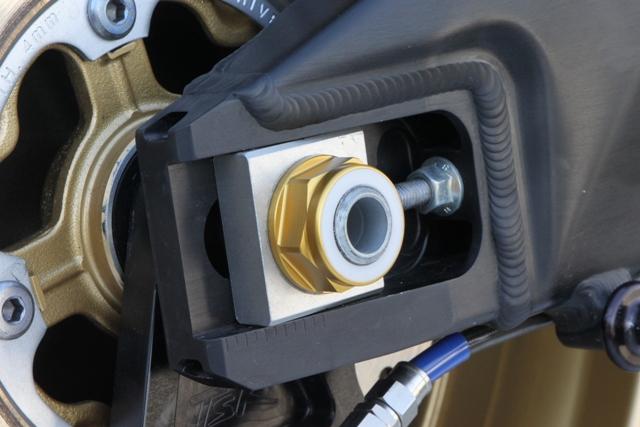 【TSR】後輪軸螺帽M22 金色 - 「Webike-摩托百貨」