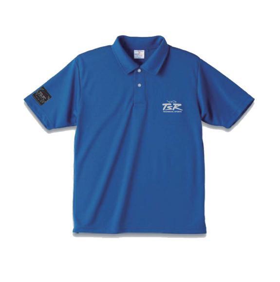 【TSR】Polo衫襯衫藍 - 「Webike-摩托百貨」