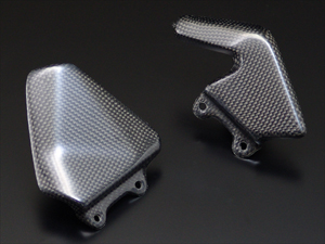 【RidingHouse】碳纖維腳跟護板 - 「Webike-摩托百貨」